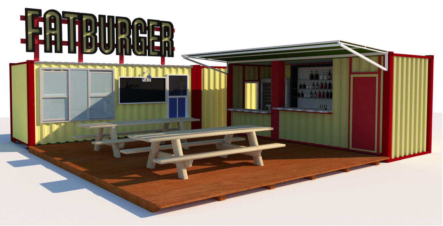 Fatburger container concepts
