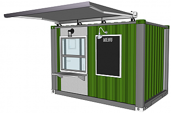 Container Concepts 10' - Cafe