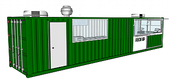 Container Concepts 40' - Cafe