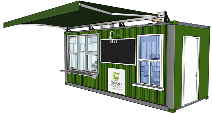 Container Concepts 20 - Cafe