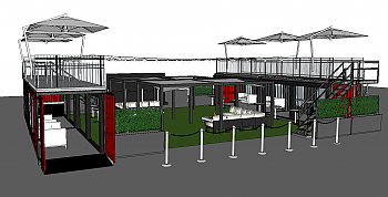 Container Concepts® VIP Lounge