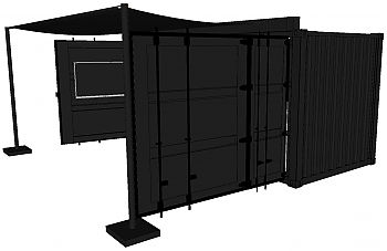 Container Concepts® 20' Side Out Event